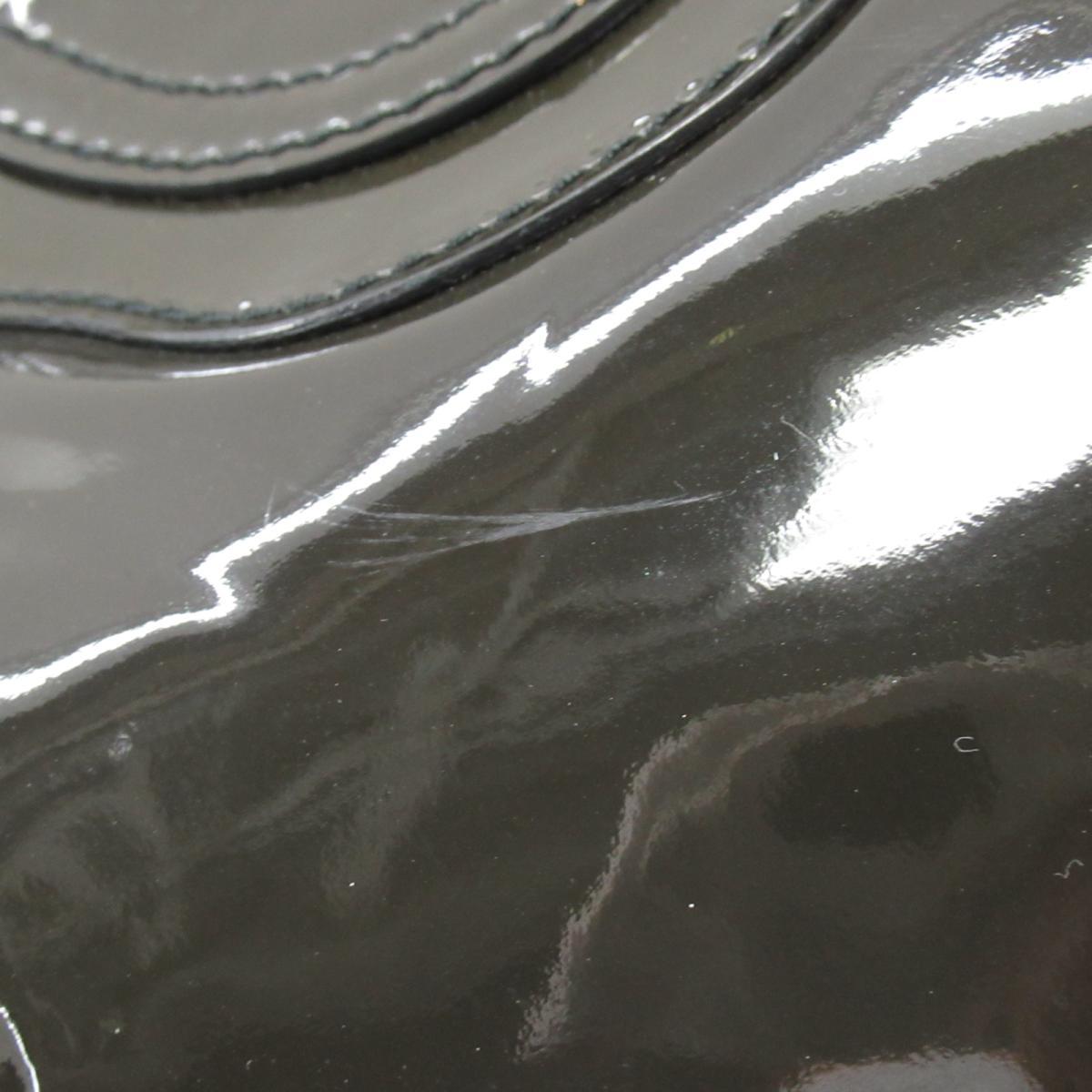 サルヴァトーレ・フェラガモ ガンチーニ ショルダーバッグ バッグ レディース エナメル グレー系Salvatore Ferragamo BRANDOFF ブランドオフ ブランド ブランドバッグ バック ショルダーバック ショルダー 肩掛けOwkiulPXZT