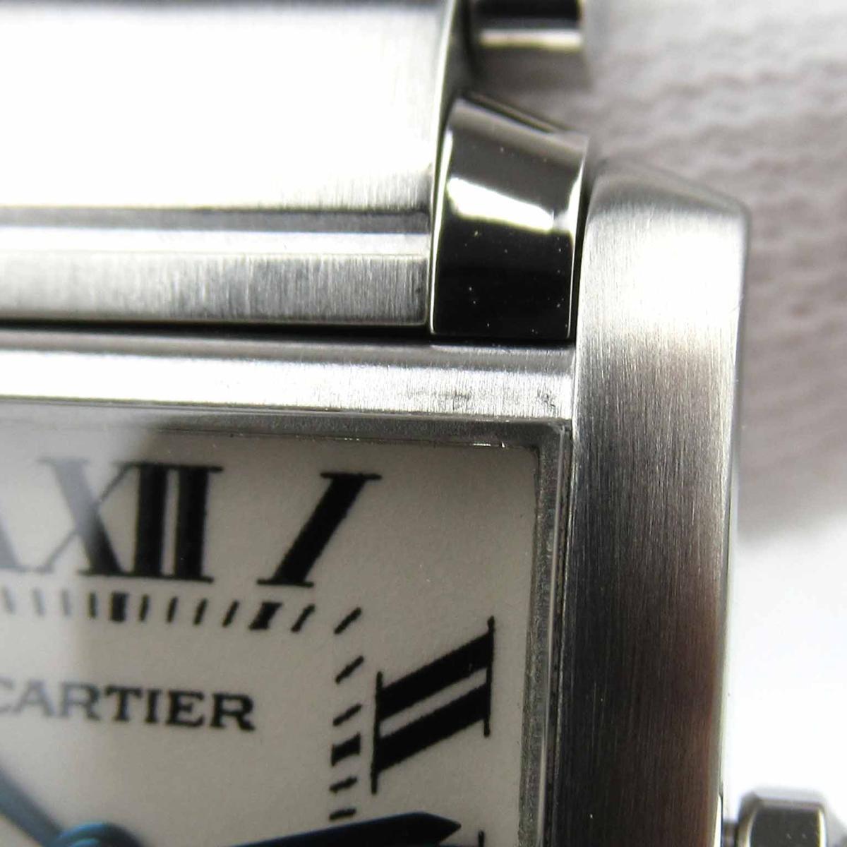 カルティエ タンクフランセーズSM ウォッチ 腕時計 時計 レディース ステンレススチールSSW51008Q3Cartier BRANDOFF ブランドオフ ブランド ブランド時計 ブランド腕時計vn80Nwm