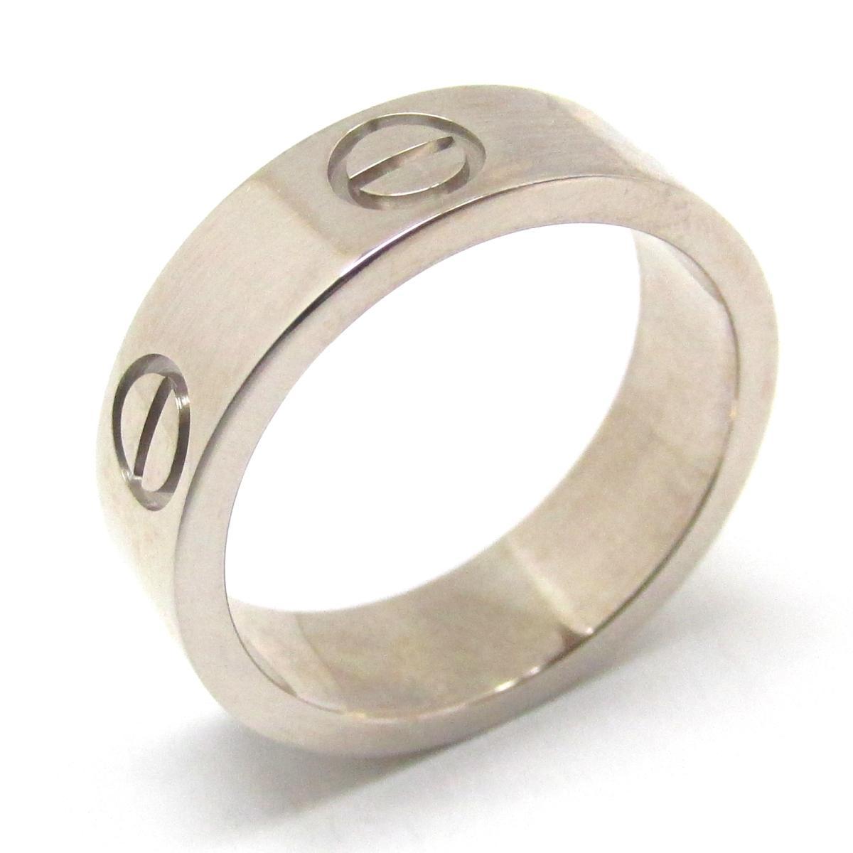 カルティエ ラブリング 指輪 ブランドジュエリー レディース K18WG (750) ホワイトゴールド 【中古】 | Cartier BRANDOFF ブランドオフ ブランド ジュエリー アクセサリー リング