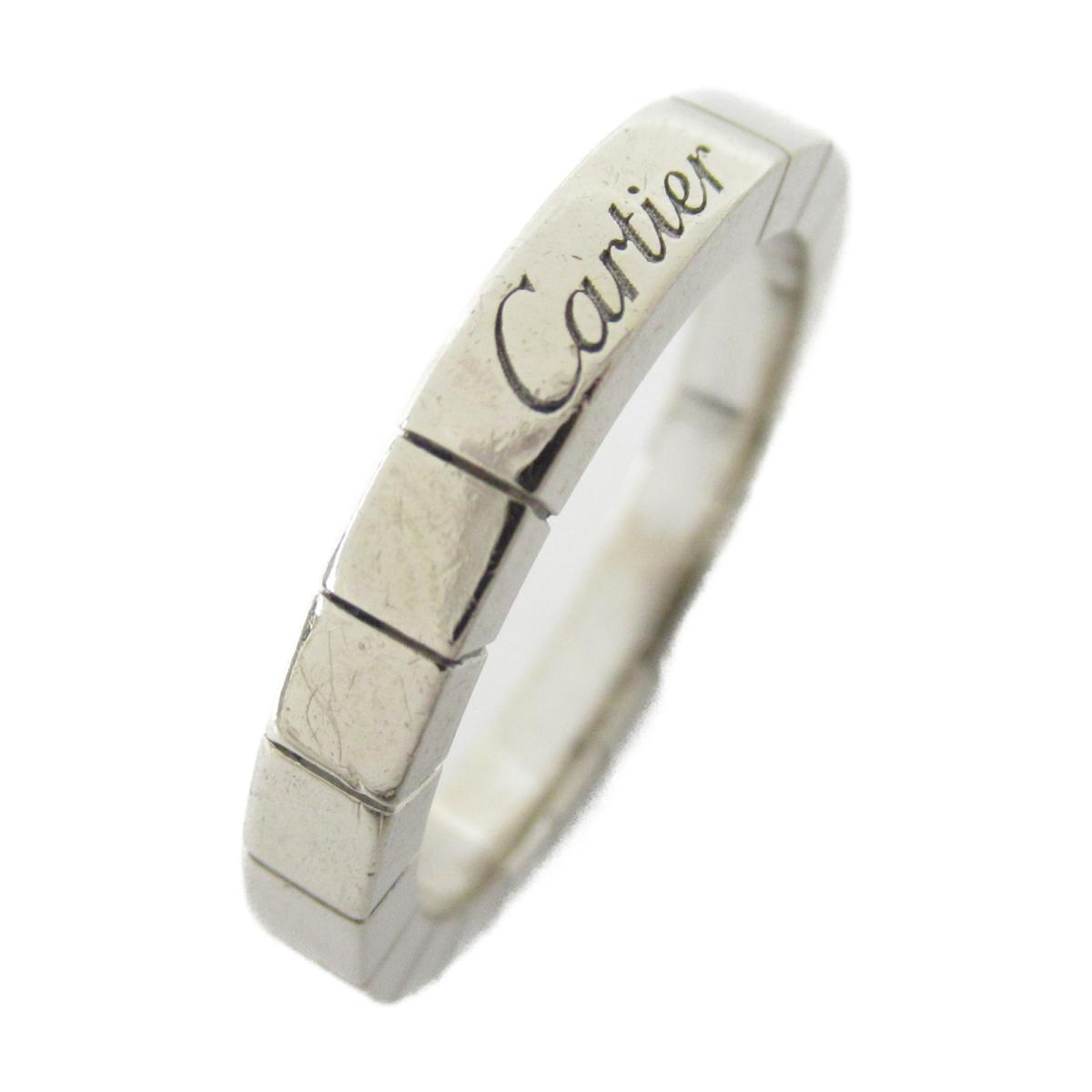 カルティエ ラニエール リング 指輪 ブランドジュエリー メンズ レディース K18WG (750) ホワイトゴールド 【中古】 | Cartier BRANDOFF ブランドオフ ブランド ジュエリー アクセサリー