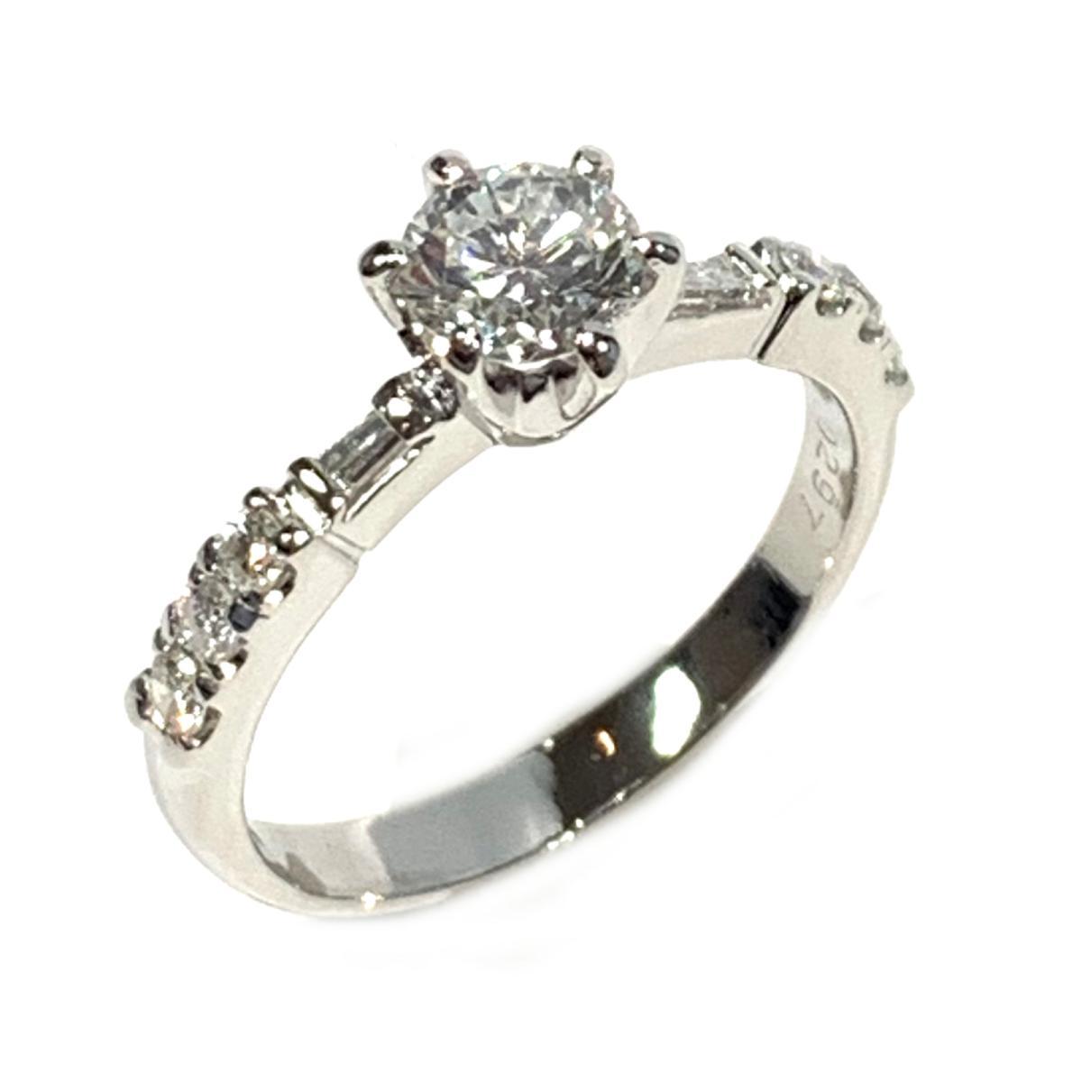 ジュエリー ダイヤモンド リング 指輪 ノーブランドジュエリー レディース PT900 プラチナ x ダイヤ0.67 | JEWELRY BRANDOFF ブランドオフ アクセサリー