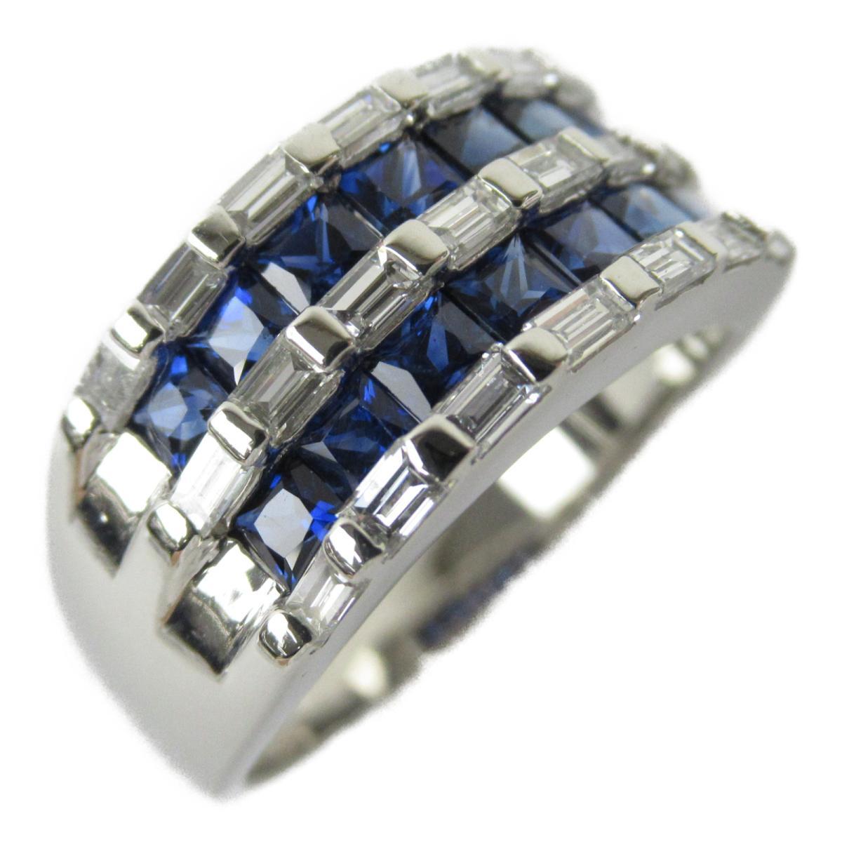 ジュエリー サファイア ダイヤモンド リング 指輪 ノーブランドジュエリー メンズ レディース PT900 プラチナ x サファイア1.70 | JEWELRY BRANDOFF ブランドオフ アクセサリー