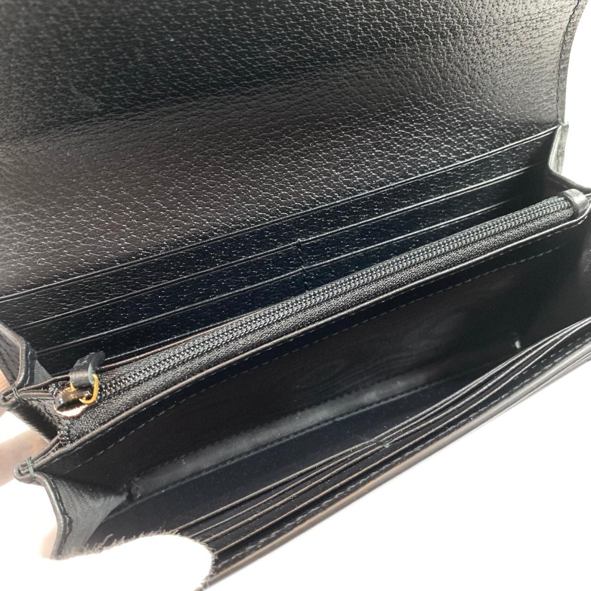 グッチ ZIP長財布 二つ折り長財布 財布 メンズ レディース レザー ブラック523153uiTOXZPk