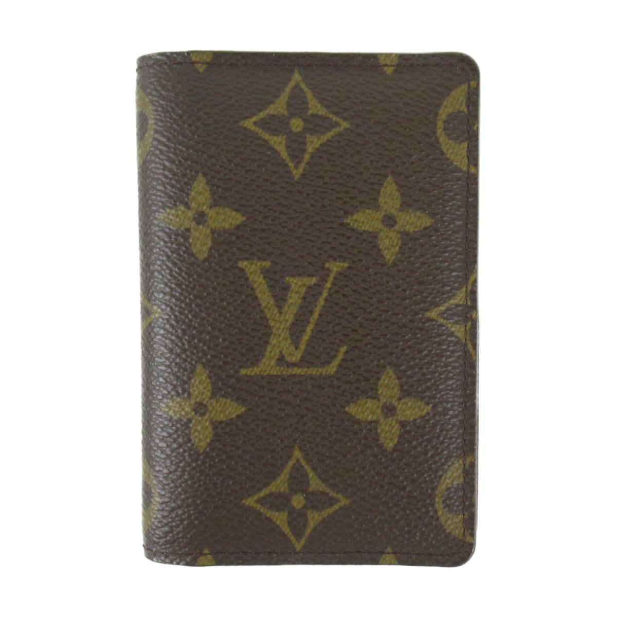 【中古】ルイヴィトン オーガナイザードゥポッシュ カードケース 財布 ユニセックス モノグラム モノグラム (M61732)