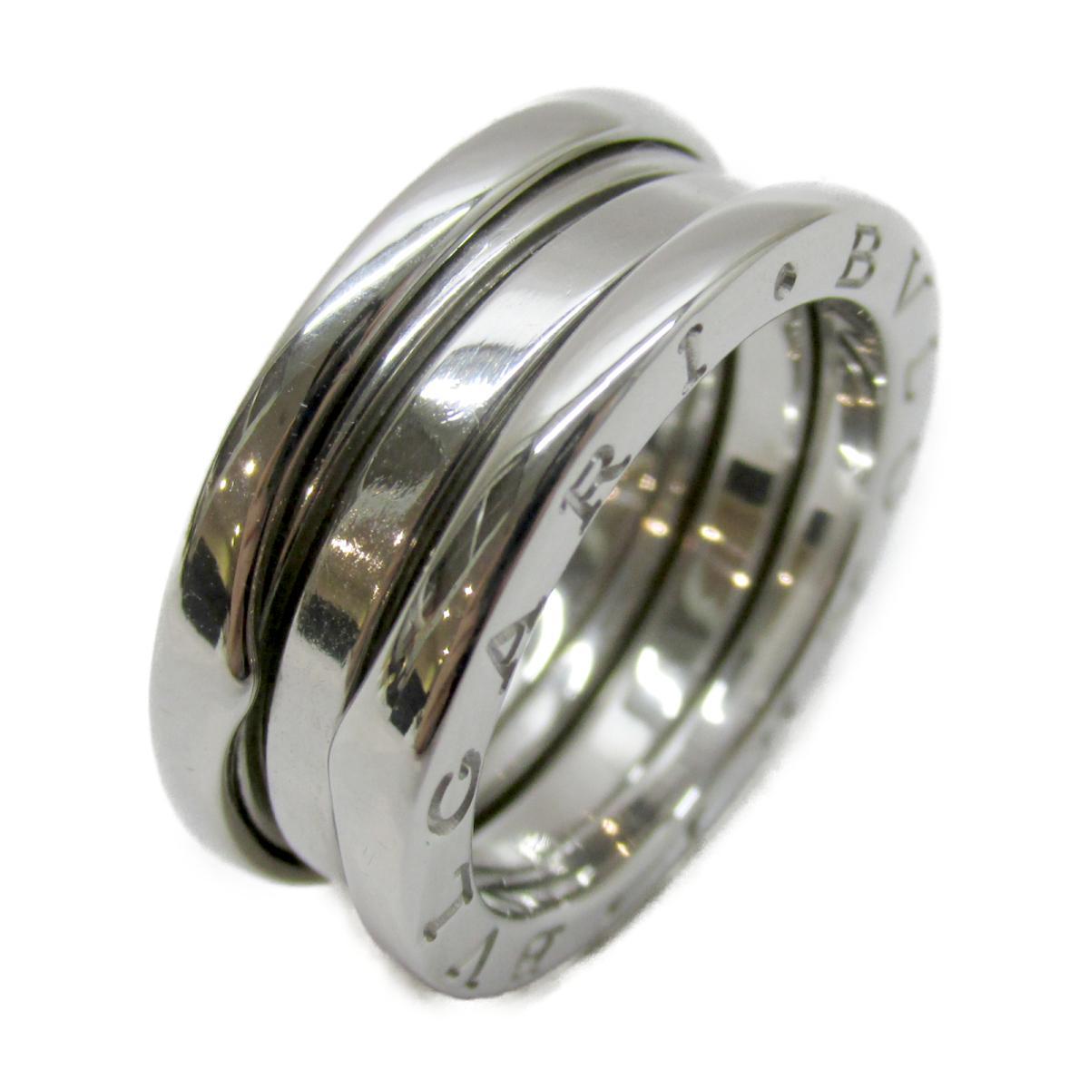 ブルガリ B-zero1 リング 指輪 ブランドジュエリー メンズ レディース K18WG (750) ホワイトゴールド シルバー 【中古】   BVLGARI BRANDOFF ブランドオフ ブランド ジュエリー アクセサリー