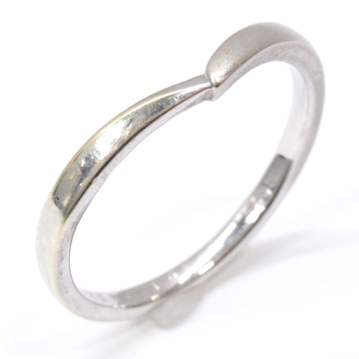 ヨンドシー リング 指輪 ブランドジュエリー メンズ レディース K10WG (420) ホワイトゴールド シルバー 【中古】   4℃ BRANDOFF ブランドオフ ブランド ジュエリー アクセサリー