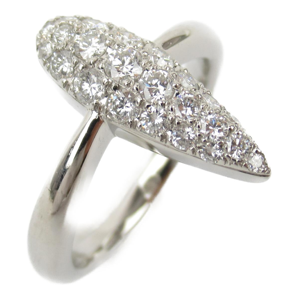 ジュエリー ダイヤモンド リング 指輪 ノーブランドジュエリー レディース PT900 プラチナ x ダイヤモンド0.610ct 【中古】 | JEWELRY BRANDOFF ブランドオフ アクセサリー