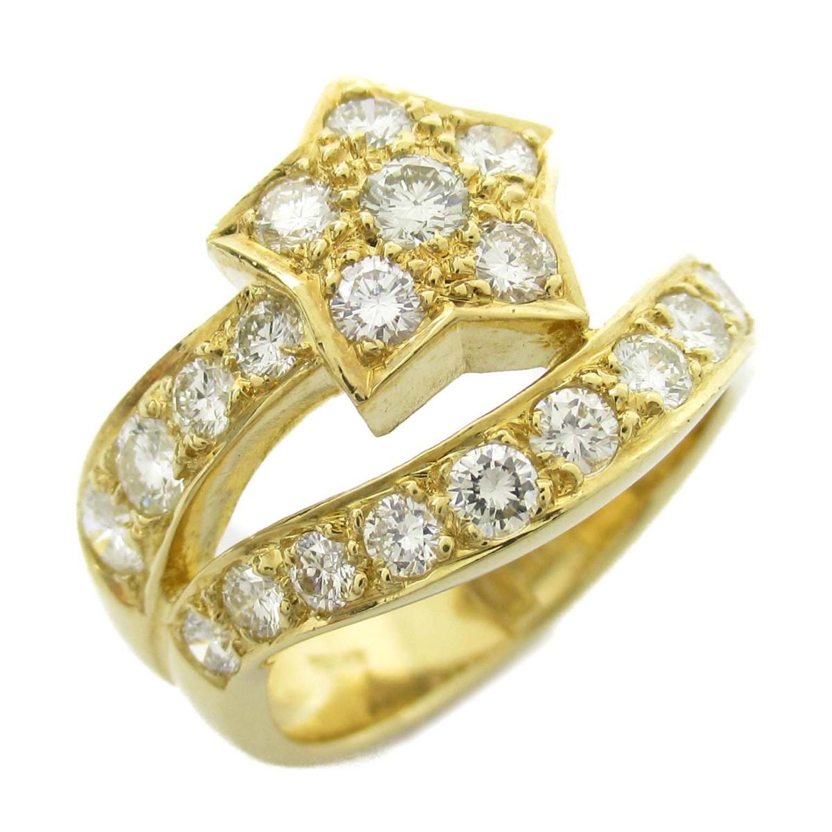 ジュエリー ダイヤモンド リング 指輪 ノーブランドジュエリー レディース K18YG (750) イエローゴールド x ダイヤモンド1.22ct 【中古】 | JEWELRY BRANDOFF ブランドオフ アクセサリー