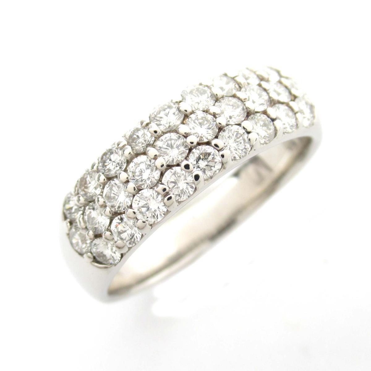 ジュエリー ダイヤモンド リング 指輪 ノーブランドジュエリー レディース PT900 プラチナ x ダイヤモンド1.00ct 【中古】 | JEWELRY BRANDOFF ブランドオフ アクセサリー