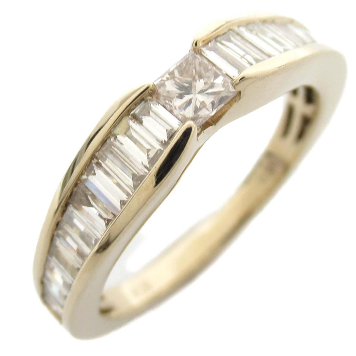ジュエリー ダイヤモンド リング 指輪 ノーブランドジュエリー レディース 18Kイエローゴールド x ダイヤモンド0.60ct 【中古】 | JEWELRY BRANDOFF ブランドオフ アクセサリー
