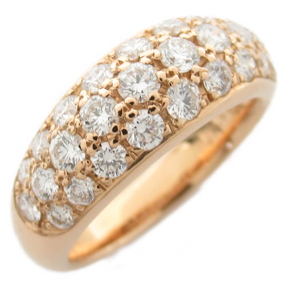 ジュエリー ダイヤモンド リング 指輪 ノーブランドジュエリー レディース K18PG (750) ピンクゴールド x ダイヤモンド0.86ct 【中古】 | JEWELRY BRANDOFF ブランドオフ アクセサリー