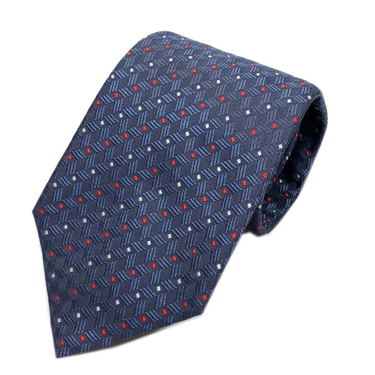 エンポリオアルマーニ ネクタイ 衣料品 メンズ シルク ネイビー | EMPORIO ARMANI BRANDOFF ブランドオフ ブランド スーツ