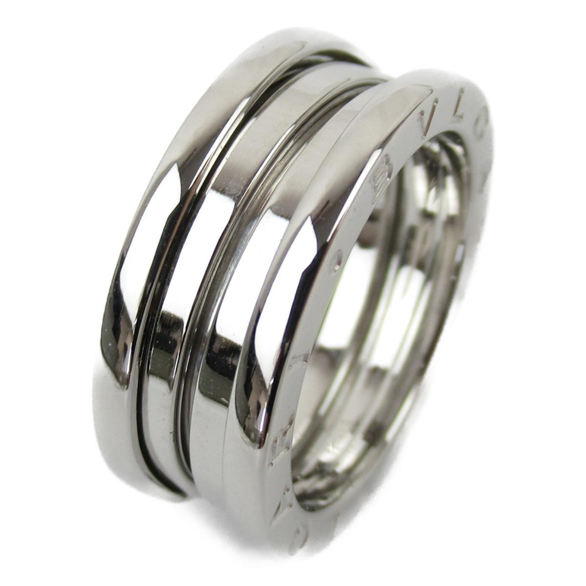 ブルガリ B-zero1 ビーゼロワン リング Sサイズ 指輪 ブランドジュエリー レディース K18WG (750) ホワイトゴールド 【中古】 | BVLGARI BRANDOFF ブランドオフ ブランド ジュエリー アクセサリー