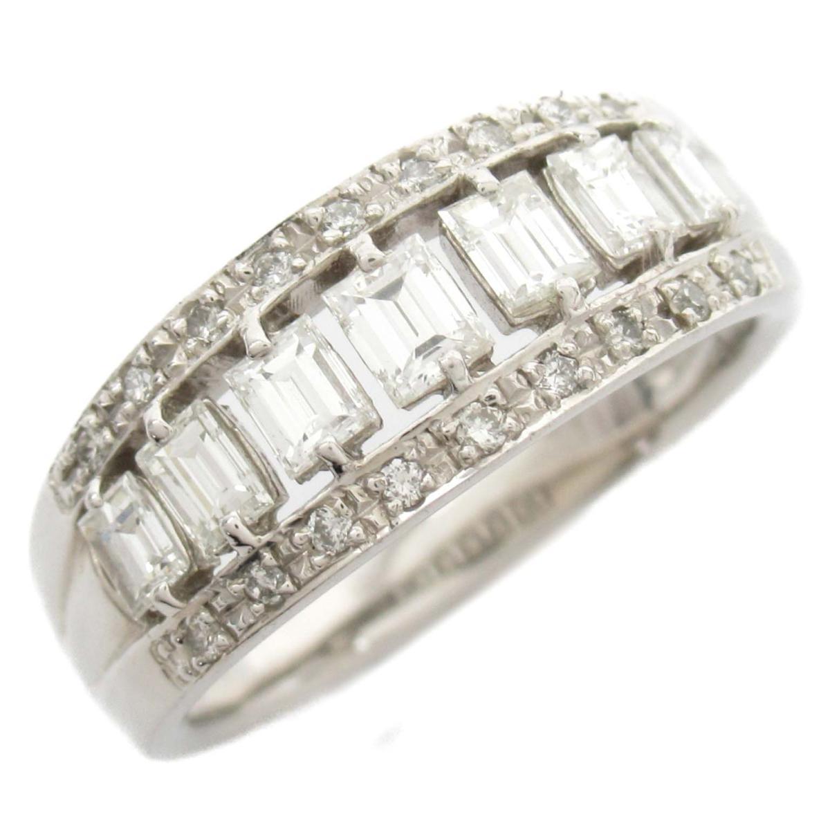 ジュエリー ダイヤモンド リング 指輪 ノーブランドジュエリー レディース PT900 プラチナ x ダイヤモンド0.82ct 【中古】 | JEWELRY BRANDOFF ブランドオフ アクセサリー