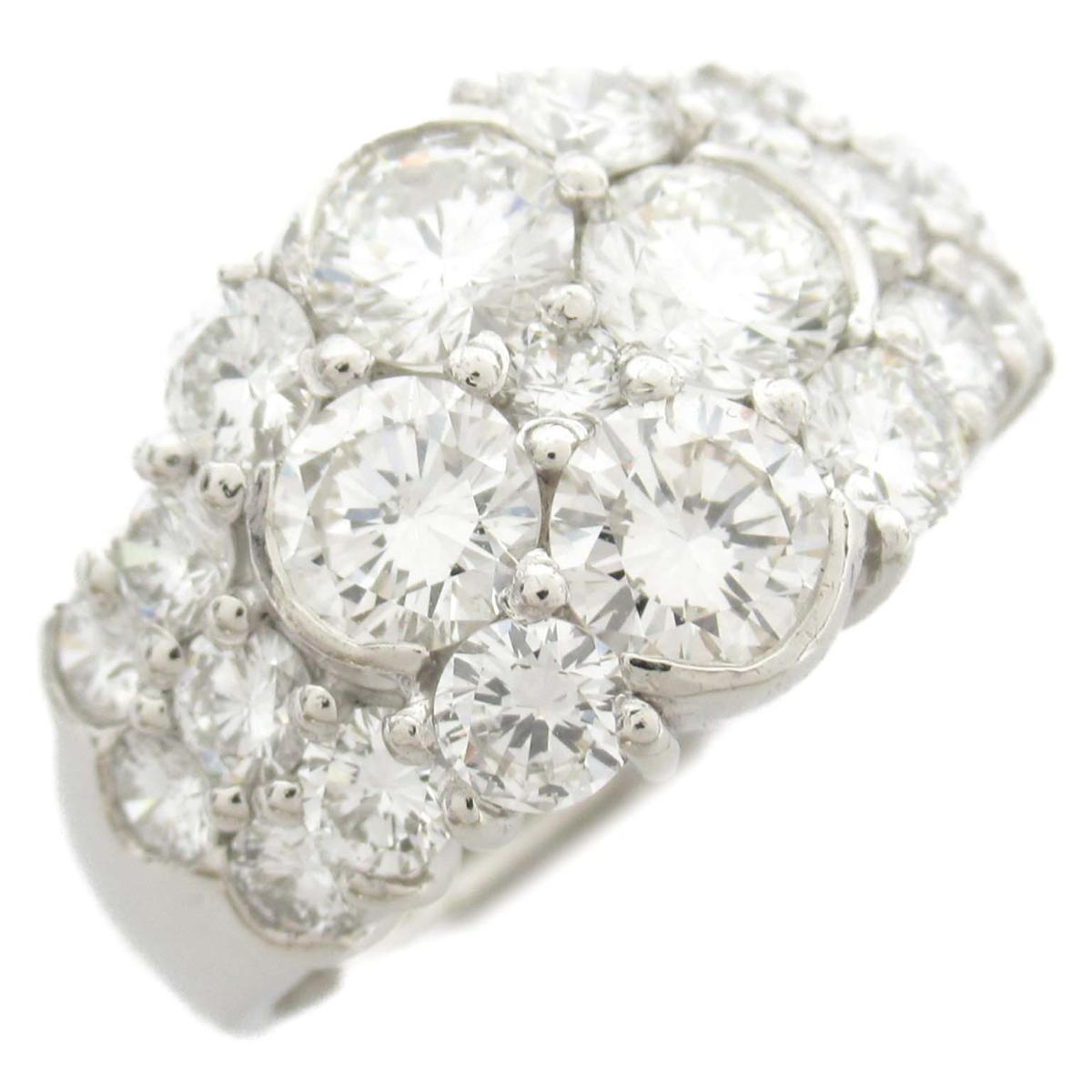 ジュエリー ダイヤモンド リング 指輪 ノーブランドジュエリー レディース PT900 プラチナ x ダイヤモンド0.50ct 【中古】 | JEWELRY BRANDOFF ブランドオフ アクセサリー