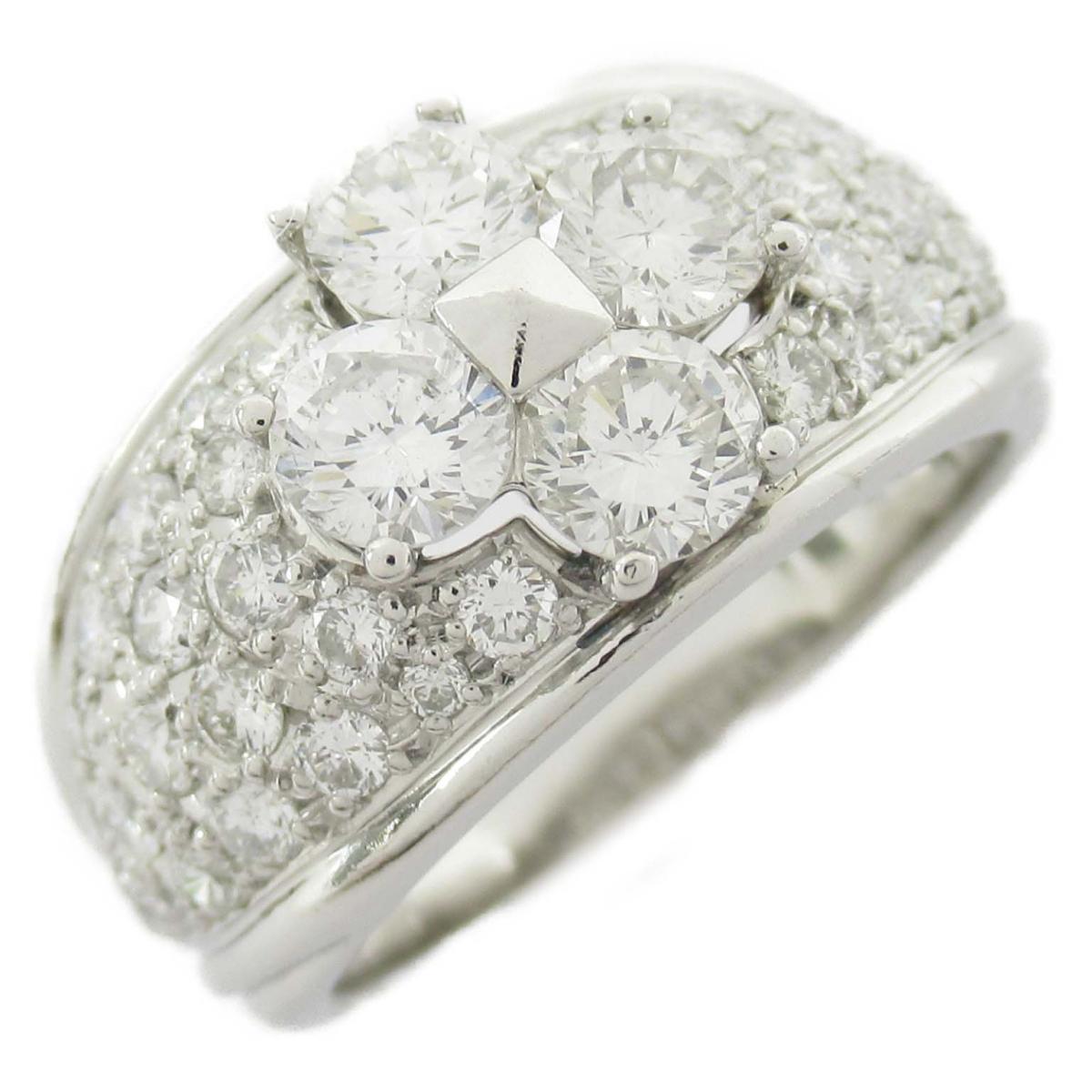 ジュエリー ダイヤモンド リング 指輪 ノーブランドジュエリー レディース PT900 プラチナ x ダイヤモンド2.00ct 【中古】 | JEWELRY BRANDOFF ブランドオフ アクセサリー