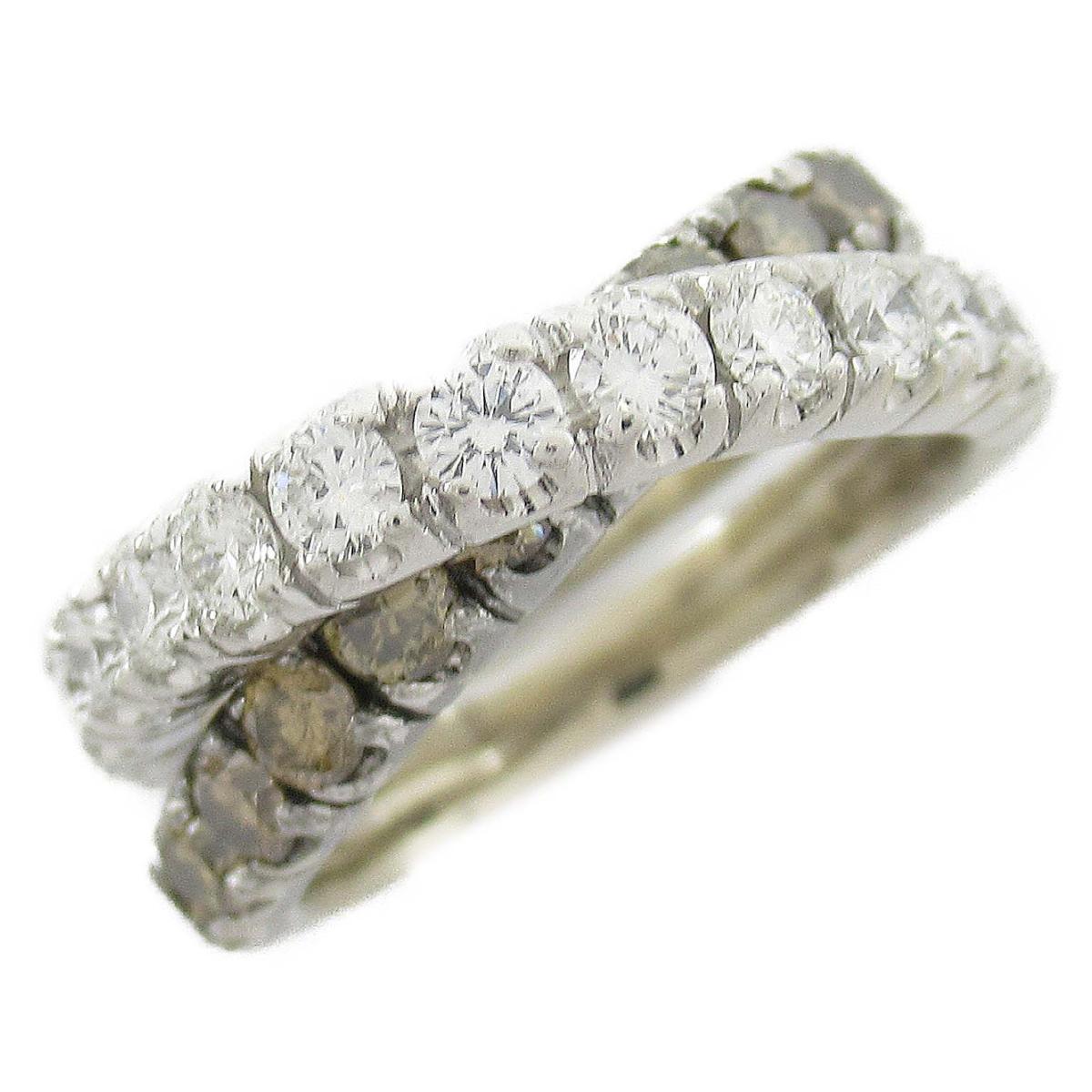 ジュエリー ダイヤモンド リング 指輪 ノーブランドジュエリー レディース 18KT x (1.00 / 0.85CT) 【中古】 | JEWELRY BRANDOFF ブランドオフ アクセサリー