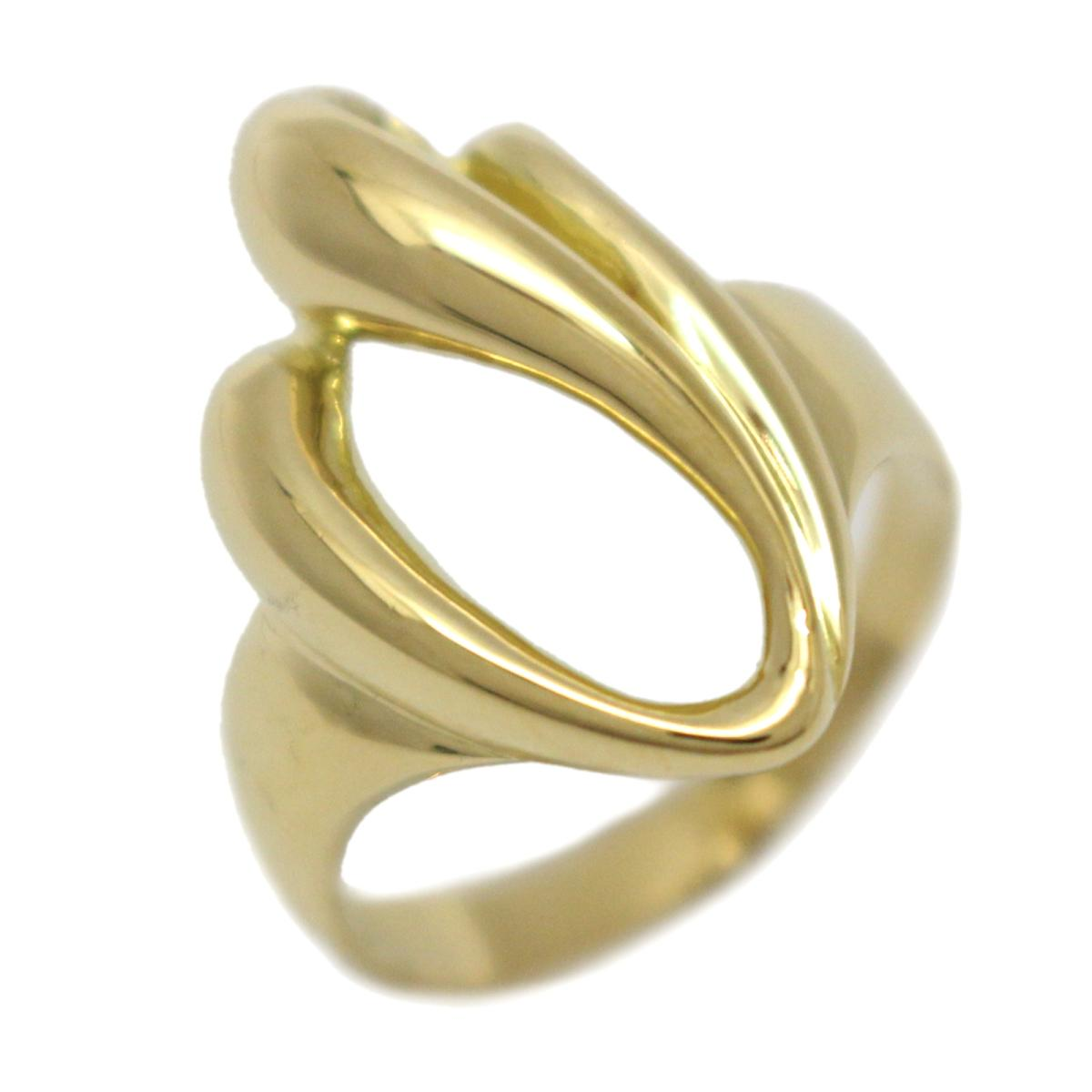 ジュエリー リング 指輪 ノーブランドジュエリー レディース K18YG (750) イエローゴールド 【中古】   JEWELRY BRANDOFF ブランドオフ アクセサリー