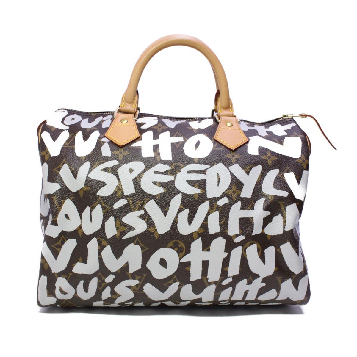 ルイヴィトン スピーディ30 ハンドバッグ バッグ レディース モノグラムグラフィティ (M92195) 【中古】 | ブランド