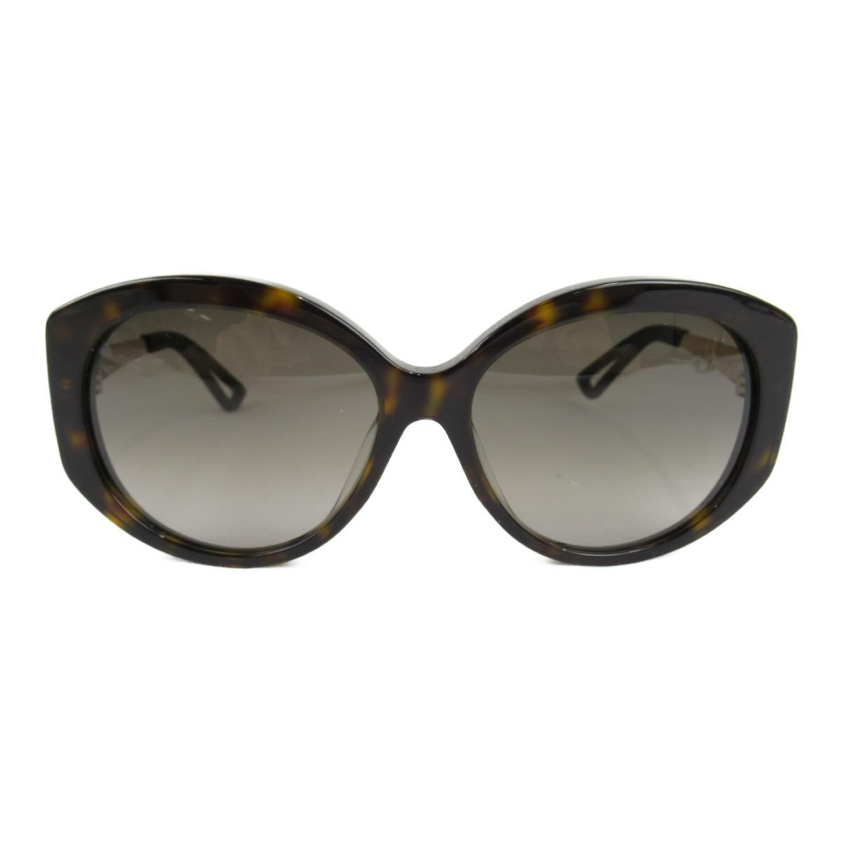 クリスチャン・ディオール サングラス アクセサリー メンズ レディース フレーム・テンプル・レンズ:アセテート ブラック x ブラウン ゴールド (EXTASE/F QSH/HA) | Dior BRANDOFF ブランドオフ ブランド ブランド雑貨 小物 雑貨 眼鏡 メガネ めがね