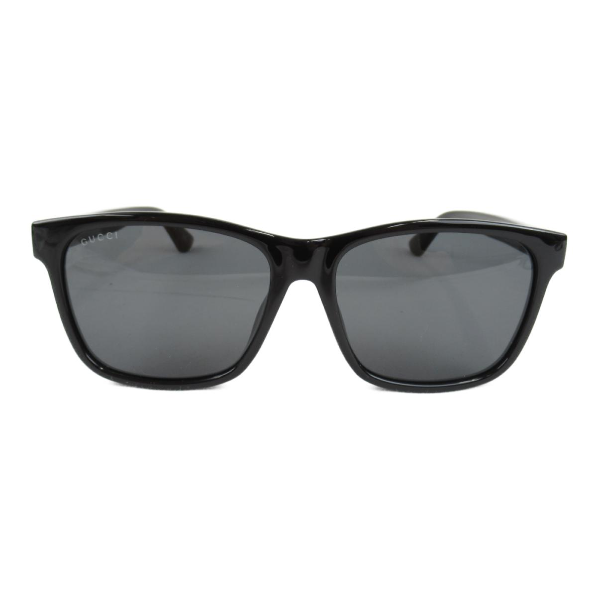 グッチ サングラス アクセサリー メンズ レディース レンズ・フレーム・テンプル:プラスチック ブラック x (0746SA 1 57ロ16-145)   GUCCI BRANDOFF ブランドオフ ブランド ブランド雑貨 小物 雑貨 眼鏡 メガネ めがね