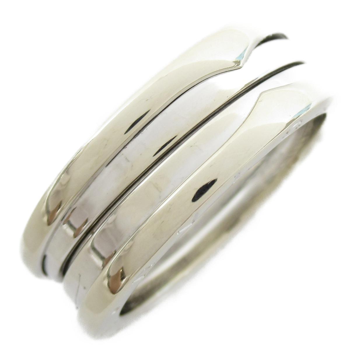 ブルガリ B-zero1 リング Sサイズ ビーゼロワン 指輪 ブランドジュエリー メンズ レディース 18Kホワイトゴールド 【中古】 | BVLGARI BRANDOFF ブランドオフ ブランド ジュエリー アクセサリー