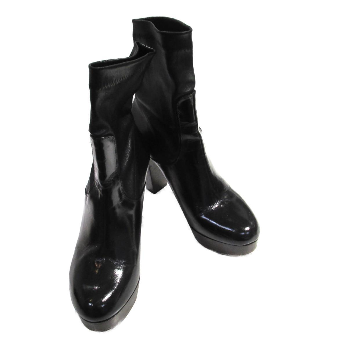 SELECTION Roberto Clergerie ショートブーツ その他 ランクB ブランドオフ 誕生日 プレゼント ギフト セレクション レザー 毎日続々入荷 シューズ ブラック 靴 レディース クツ BRANDOFF 中古 海外並行輸入正規品 ブーツ ブランド