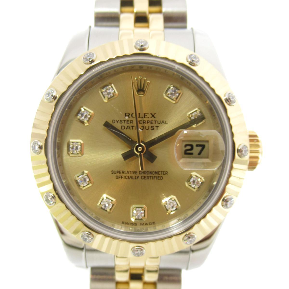セール特価 ロレックス デイトジャスト ベゼル12Pダイヤ 時計 ブランド時計   ROLEX BRANDOFF ブランドオフ レディース 腕時計 ブランド ブランド時計 ブランド腕時計 腕時計 時計 ウォッチ, Happiness Mom:dd4546a4 --- verandasvanhout.nl