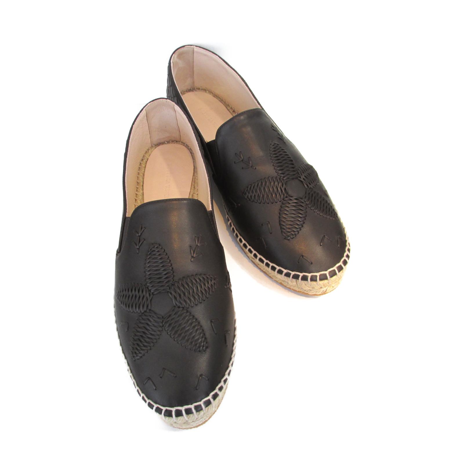 ボッテガヴェネタ その他靴 ランクS ブランドオフ 8 15から ポイント5倍 最大3万円OFFクーポン なくなり次第終了 エスパドリーユ BOTTEGAVENETA ブラウン系 レザー 特売 茶色 中古 レディース 出荷 ベージュ系 靴