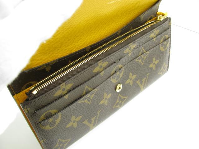LOUIS VUITTON 르이비톤포르트포이유・에밀리 반접기장 지갑장 지갑 모노그램×미모사 모노그램(M60698) 루이비통