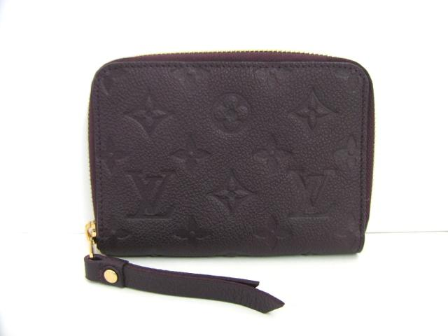LOUIS VUITTON ルイヴィトンポルトフォイユ スクレットコンパクトラウンド wallet wallet Aube monogram amplifier Lunt leather (M60296) Louis Vuitton