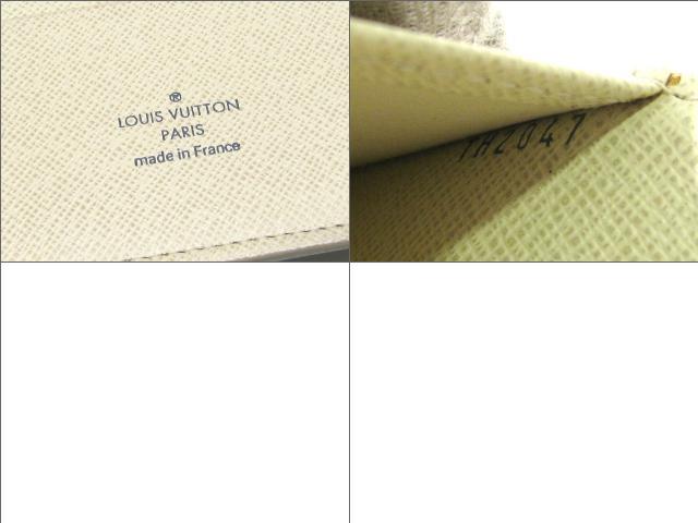 LOUIS VUITTON 루이비통 의제 GM시스템 수첩 수첩 다미에・아즈르다미에・아즈르르이갋비톤