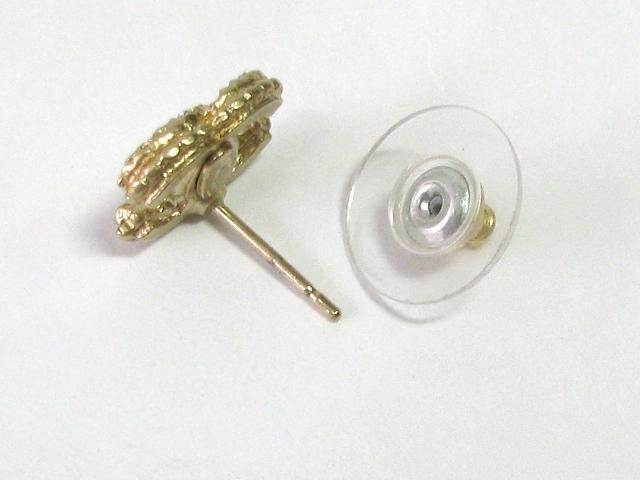 CHANEL 샤넬 A13K 피어스 피어스 골드 골드 도금×페이크 다이아몬드[BRANDOFF 브랜드 오프]