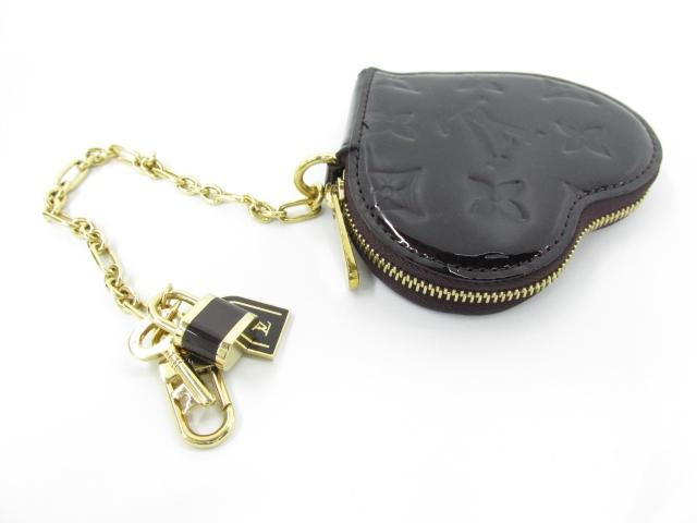 Put LOUIS VUITTON (Louis Vuitton) / port Monet cool coin purse / coin (M93561) [BRANDOFF / brand off] / / Amarante / Vernis