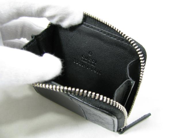 GUCCI (Gucci) and coin purse coin purse / coin purse / the / black guccissima (322191) [BRANDOFF / brand off]