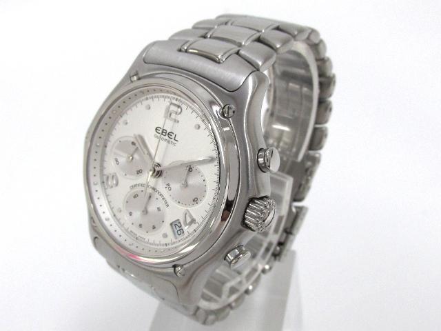 EBEL(에벨)/크로노그라후모듀로르 손목시계 워치/오토매틱//스테인레스 스틸(SS)/(9137240)[BRANDOFF/브랜드 오프]