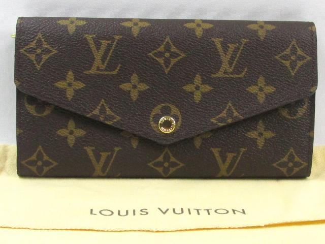 LOUIS VUITTON 르이비톤포르트포이유・사라 ZIP장 지갑장 지갑 모노그램(M60531) 루이비통