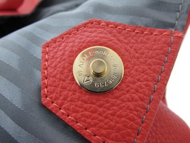 Les sacs Adam (le case Adam) / tote bag / tote bag / salmon pink / leather /[BRANDOFF/ brand off] ルサックアダム