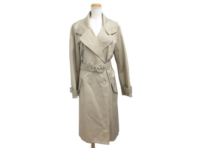 Penny black trench coat