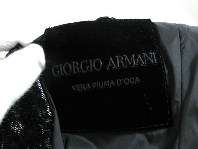 ARMANI(알마니)/아우터/의류/블랙×화이트/코튼62%×폴리에스텔27%×나일론11%/ [BRANDOFF/브랜드 오프]