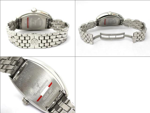 FRANCK MULLER(프랭크・뮐러)/정복자 맨즈 시계/오토매틱//스테인레스 스틸(SS)/(8001 SC)[BRANDOFF/브랜드 오프]프랭크 뮐러