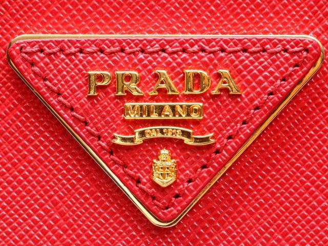 PRADA(프라다)/2 way 숄더백/숄더백/FUOCO 레드/레더(1 BA863) [BRANDOFF/브랜드 오프]