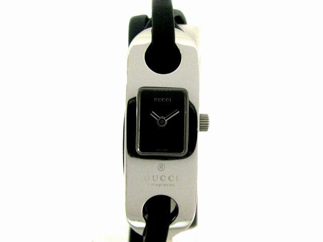 gucci 6100l. gucci (gucci) /6100l breath watch / quartz stainless steel (ss gucci 6100l