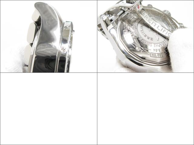 BREITLING(브라이트 링)/스파아벤쟈 손목시계 워치/오토매틱/블랙/스테인레스 스틸(SS)/(A13370)[BRANDOFF/브랜드 오프]