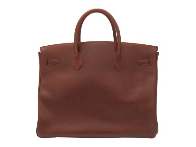 HERMES(헤르메스)/버킨 40 핸드백 레이디스 가방가방 브라운(골드 쇠장식)/아르덴누/브랜드 오프