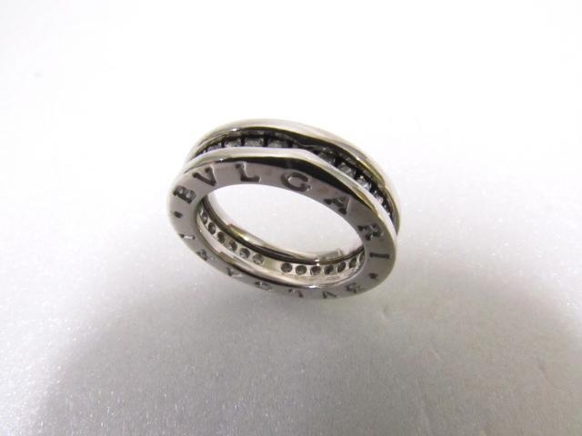 bvlgari bulgari bzero1 ring one band ring ring silver
