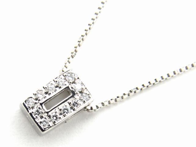 【送料無料】 JEWELRY(ジュエリー) ダイヤモンド ネックレス ネックレス PT900 プラチナ x PT850 プラチナ x ダイヤモンド0.06ct 【新品】 | JEWELRY ネックレス ダイヤ ダイヤモンド 新品 ブランドオフ BRANDOFF ボーナス