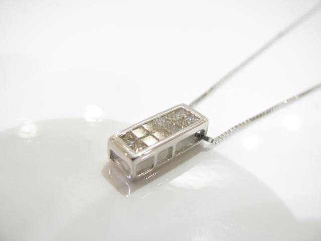【送料無料】 JEWELRY(ジュエリー) ダイヤモンドネックレス ネックレス K18WG(750) ホワイトゴールド×ダイヤモンド(0.50ct) 【新品】 | JEWELRY ネックレス K18 18K 18金 ダイヤ ダイヤモンド 新品 ブランドオフ BRANDOFF ボーナス