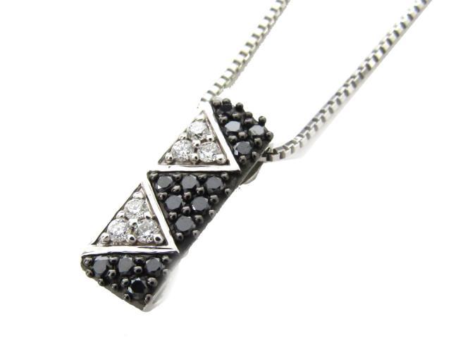 【中古】【送料無料】JEWELRY(ジュエリー) ダイヤモンド ネックレス ネックレス K18WG(750) ホワイトゴールド x ダイヤモンド(0.32ct) | JEWELRY ネックレス ダイヤ ダイヤモンドネックレス ネックレス K18 18K 18金 ブランドオフ BRANDOFF 美品 ボーナス