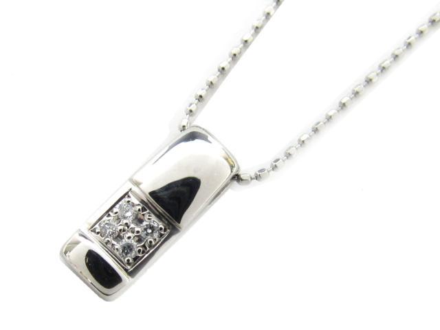 【中古】【送料無料】JEWELRY(ジュエリー) ダイヤモンド ネックレス ネックレス PT900 プラチナ x PT850 プラチナ x ダイヤモンド(0.03ct)   JEWELRY ネックレス ダイヤ ダイヤモンドネックレス ネックレス ブランドオフ BRANDOFF 美品 ボーナス